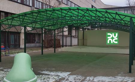 Навесы в Минске недорого